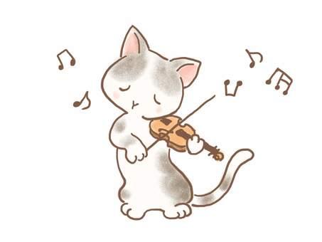 バイオリンねこ32