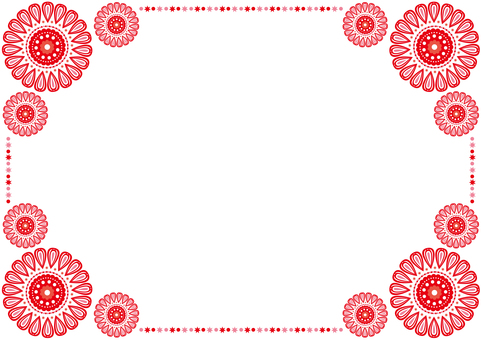 Frame - Pretty Hua - Red