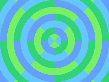 Concentric circles_colorful_2