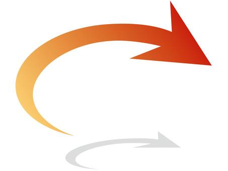 Arrow (shaded)