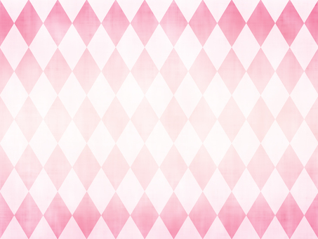 Pink color simple diamond (Argyle) pattern background