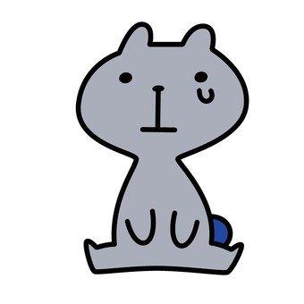 Sad cat 5