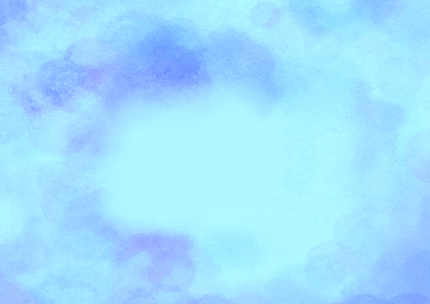Blue watercolor texture background material
