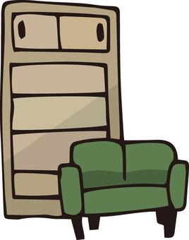 Large furniture (green)