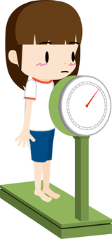 Weight measurement (girls)