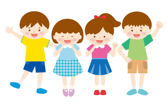 Children's group 05_ Come here (short sleeve)