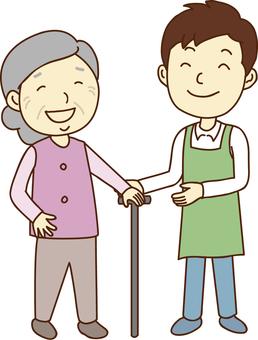 Caregiver, care worker, home helper