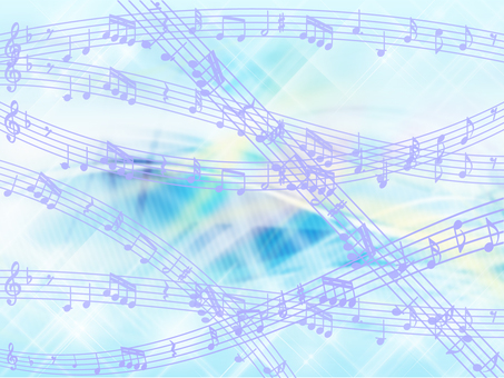 Musical note background 05