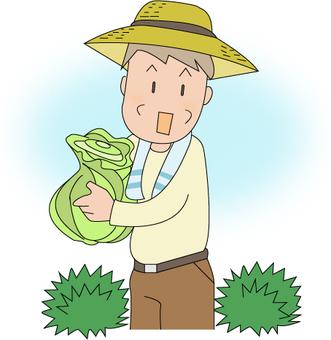 Farmer's grandpa