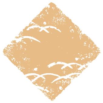 Stamp angle _ lawn deep _ beige _ cs
