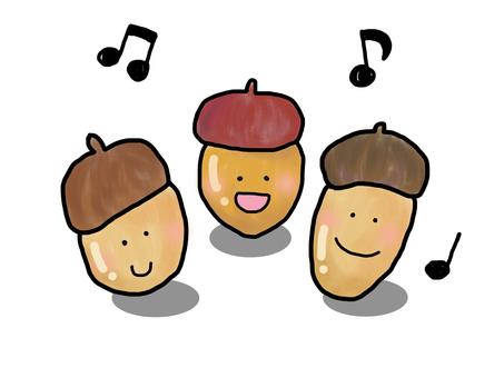 Chorus of an acorn