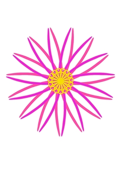 Race flower arrangement
