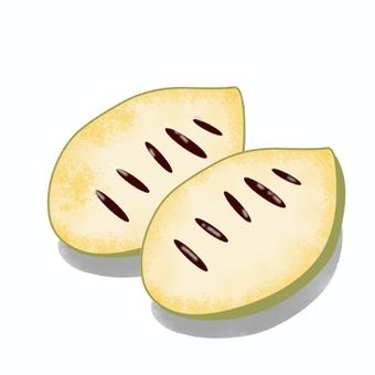 Poppo fruit (fruit pulp)