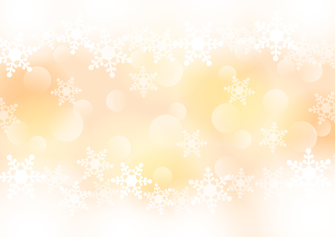 Snow crystal warm color image background