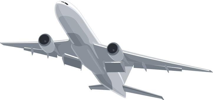 Airplane jet plane
