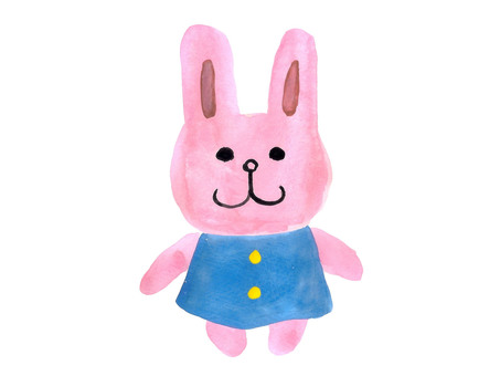 Kindergarten rabbit