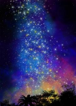 Tanabata sky