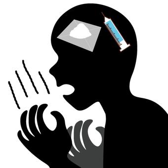 Images of stimulants / addiction / drugs