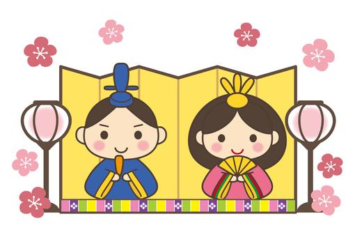 Cute Hina Dolls