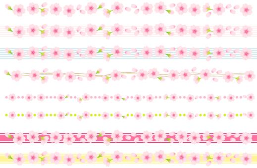 벚꽃 프레임 04