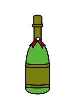 Bottle (green yellow)