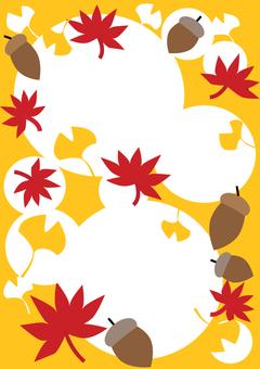 Autumn frame 1 A4