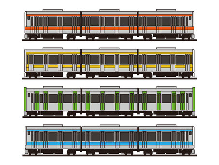 Various trains