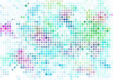 Colorful dot texture