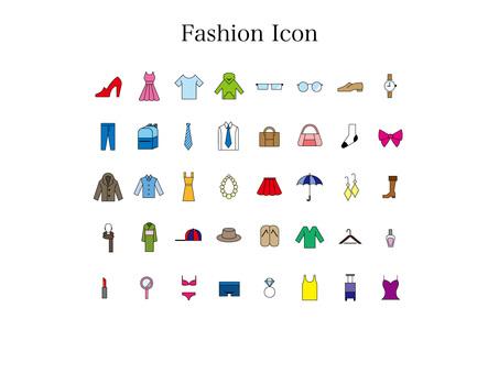 Fashion icon (color)