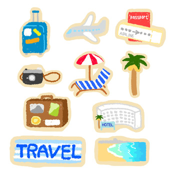 Travel related flake seal