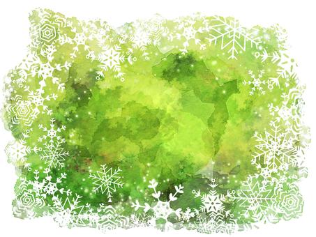 Winter snow crystal 2