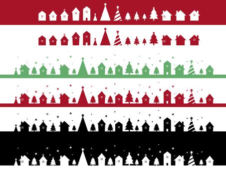 城市景觀聖誕節