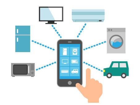 物聯網和智能手機