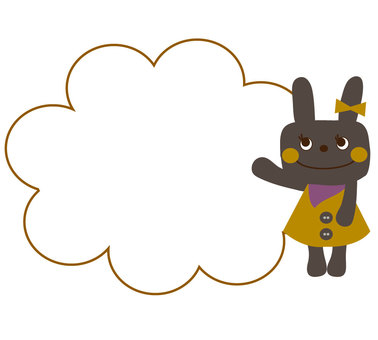 Black rabbit ★ Callout