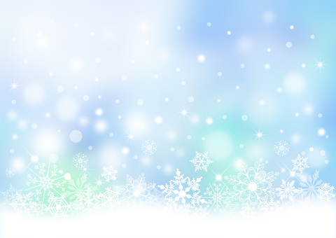 クリスマス_淡いブルー背景2300