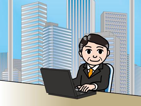 Office District (53) Skyscrapers Men