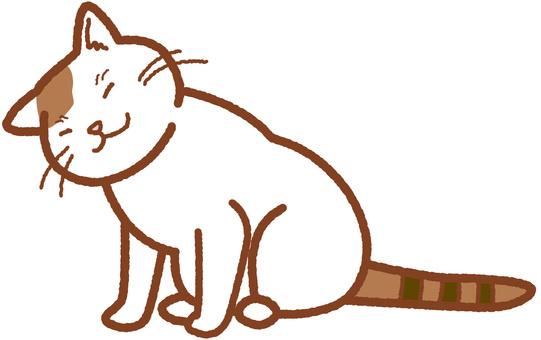 Cat fellat