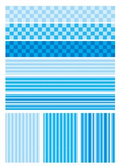 Blue pattern 1