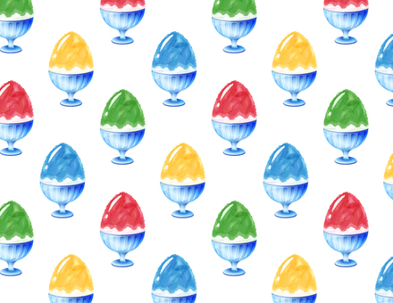 Shaved ice pattern _ 4 colors