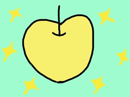 Glittering pear