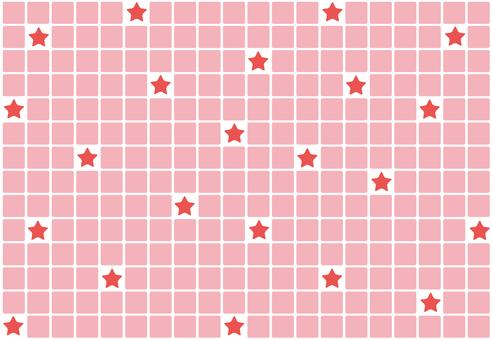Wallpaper - Tile Star - Red