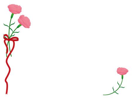 Carnation_ornament 02
