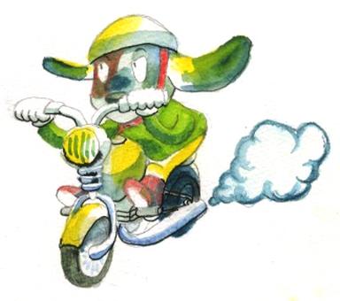Doggy rider