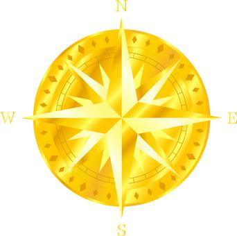 Orientation mark _ gold