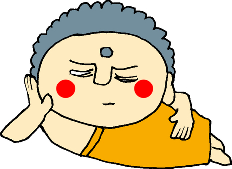 Sleeping monks sleep