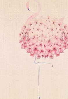 Flamingo Postcard 4