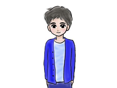 Illustration of a boy