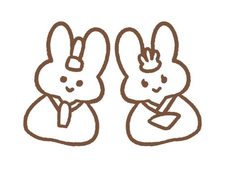 토끼 인형 색칠
