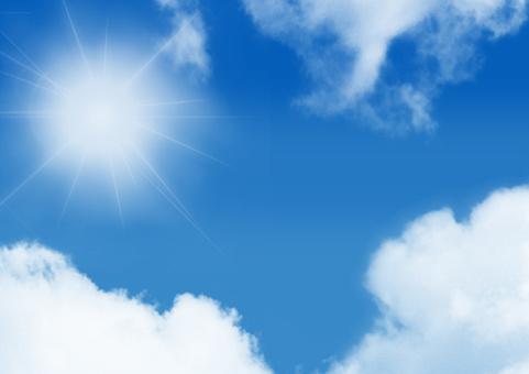 天空紋理夏天