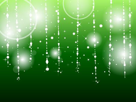 Green drop light background